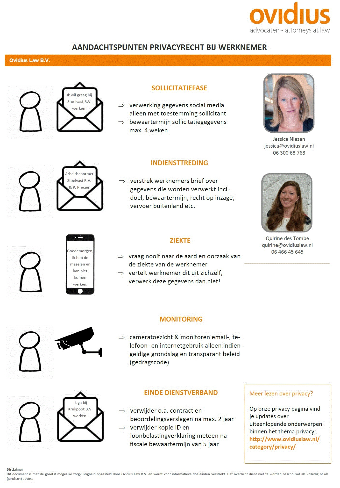 Aandachtspunten ovidius – de avg op de werkvloer: aandachtspunten op een rij
